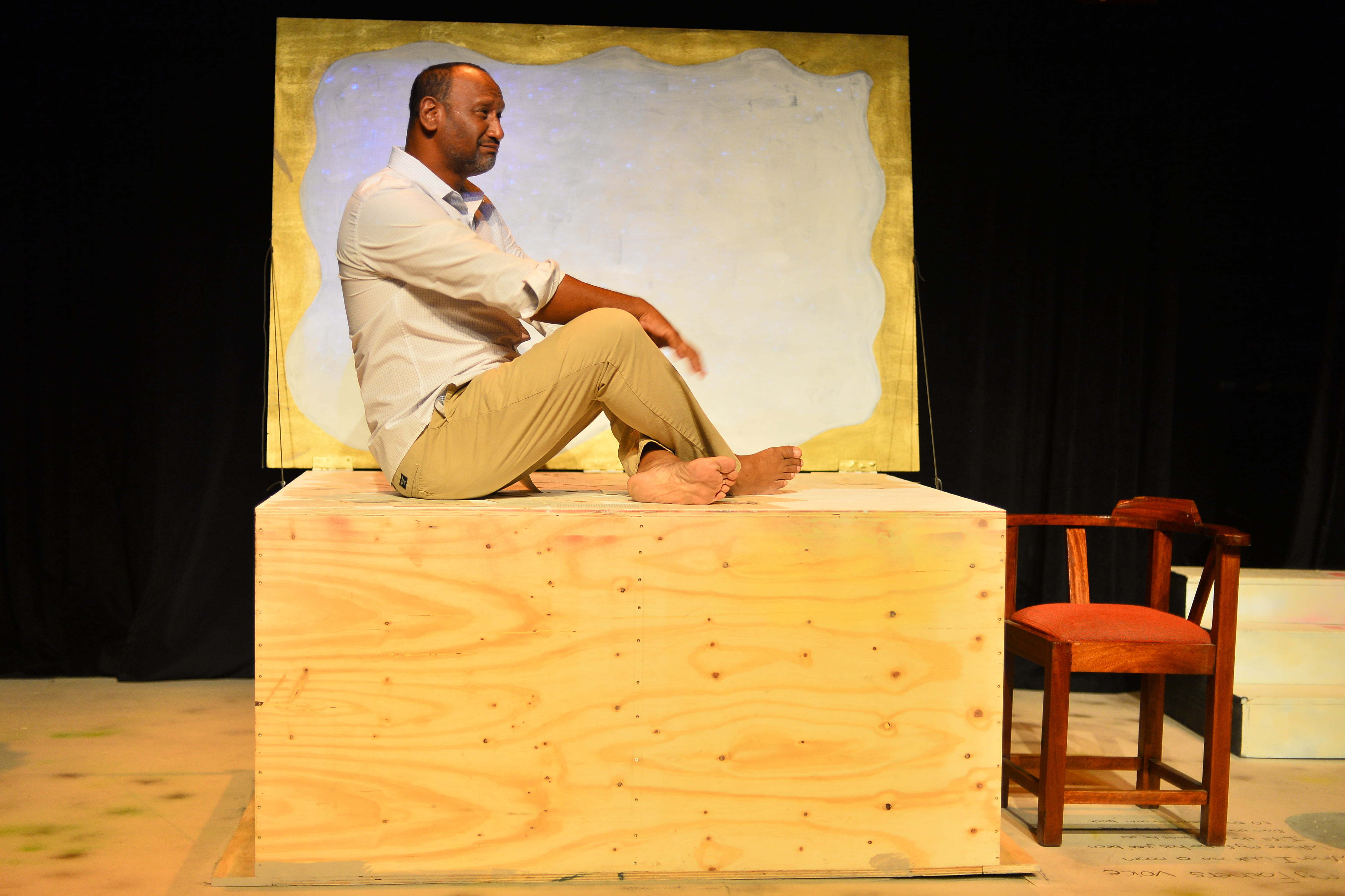 Van Wyk, The Storyteller of Riverlea directed by Christo Davids and performed by Zane Meas