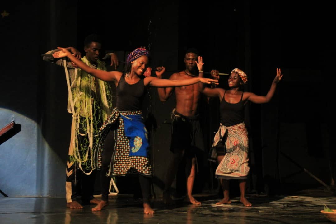 Dance Theatre Uganda's The Chains at the Uganda National Theatre