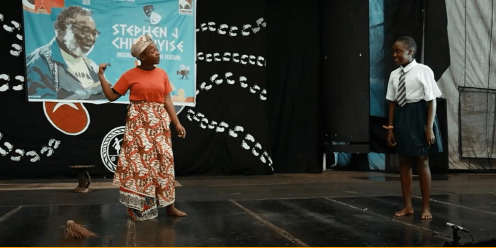 Images from The Stephen J Chifunyise International Theatre Festival