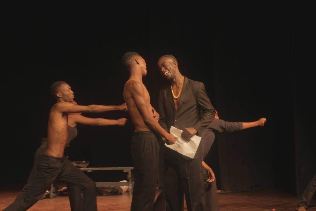 Physical Theatre Students at the Zimbabwe Theatre Academy