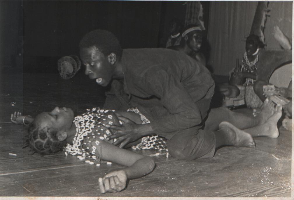 Robert Serumga's plays on stage